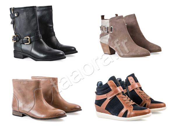 dc7e267c9f André chaussures Automne-Hiver 2013-2014, 4 modèles coups de coeur ...