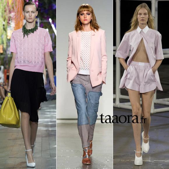 Rose pastel mode Été 2014