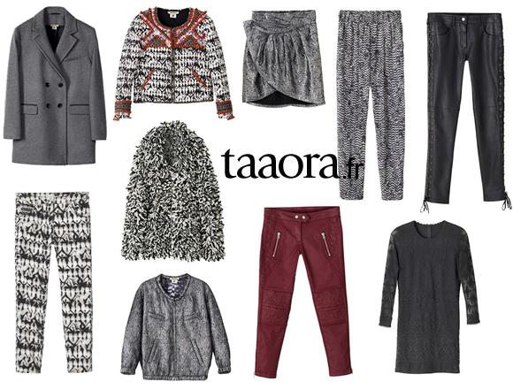 isabel marant pour h m photos et prix de la collection adresses des magasins taaora blog. Black Bedroom Furniture Sets. Home Design Ideas
