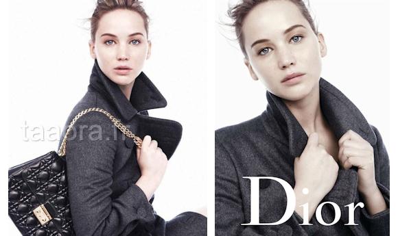 3d14c878b210 Jennifer Lawrence, campagne sacs Miss Dior Hiver 2013 (photos)