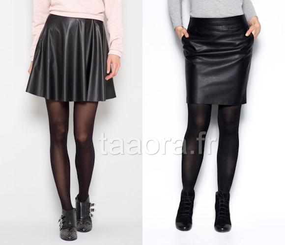 jupes en cuir tendance automne hiver 2013 2014 8 pi ces shopper taaora blog mode. Black Bedroom Furniture Sets. Home Design Ideas