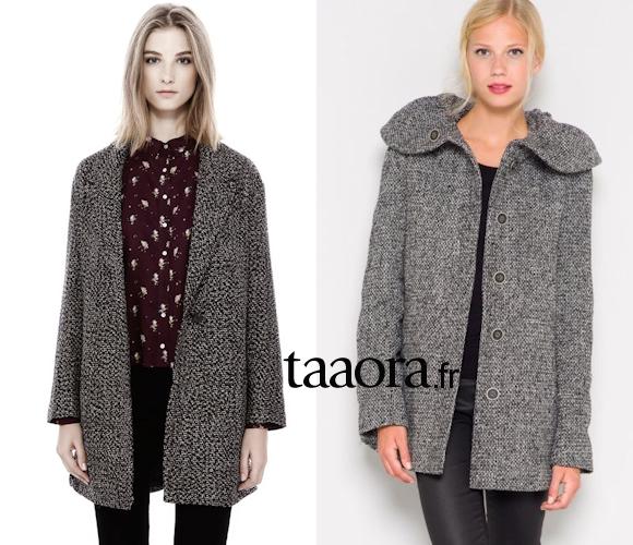 8 manteaux d hiver moins de 75 euros taaora blog mode tendances looks - Manteau cheminee pas cher ...