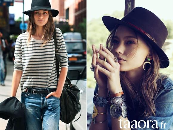 chapeau en laine accessoire tendance de l hiver 2014 taaora blog mode tendances looks. Black Bedroom Furniture Sets. Home Design Ideas