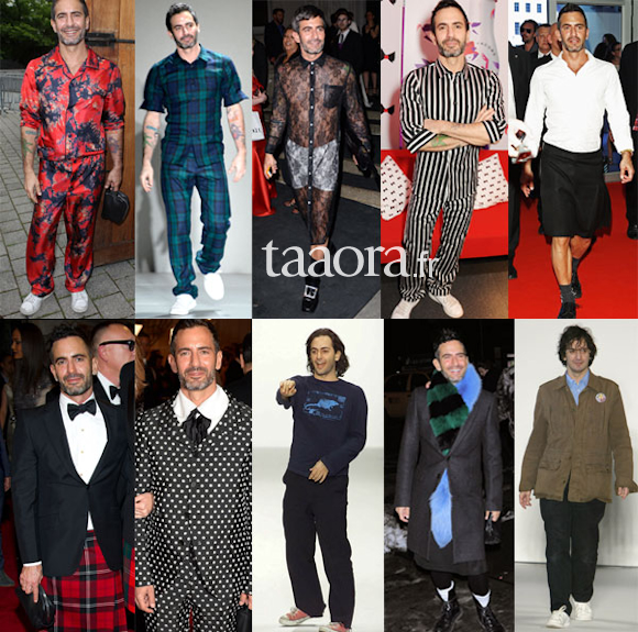 Marc Jacobs looks mémorables