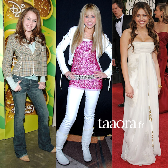 Favori Miley Cyrus, l'évolution de son look en photos – Taaora – Blog  DD89