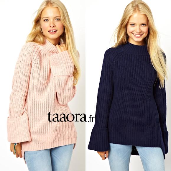 styles de mode Quantité limitée énorme inventaire Le gros pull en tricot – Taaora – Blog Mode, Tendances, Looks