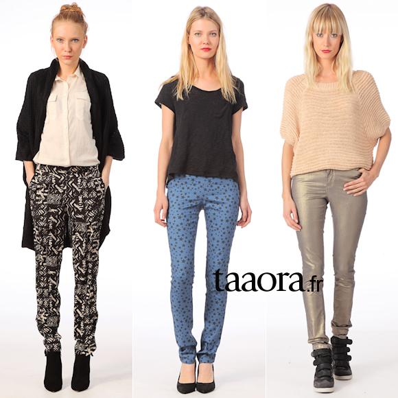 Pantalon mode Hiver 2013-2014