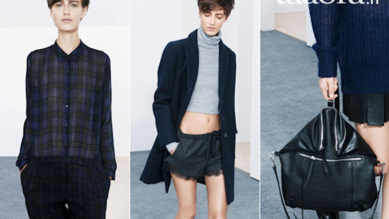Nouveau lookbook Zara TRF Femme octobre 2013