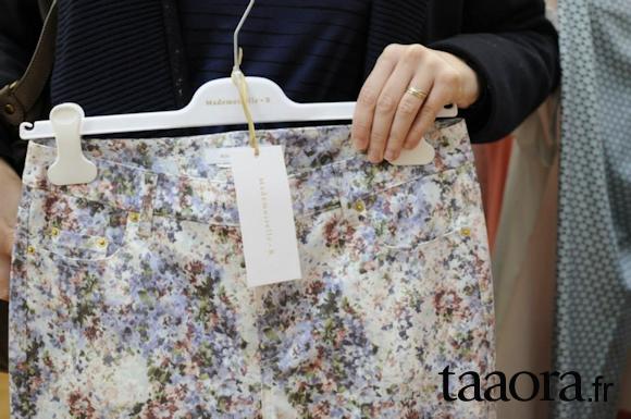 Pantalon fleurs Printemps-Été 2014