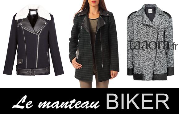 Manteau biker Hiver 2014