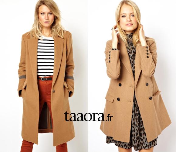 sale retailer latest discount closer at Manteau en laine femme camel   Philippedorleans