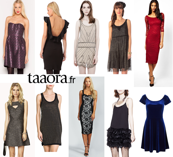10 robes de soir e pour les f tes 2013 moins de 50 euros taaora blog mode tendances looks - Robe pour le nouvel an ...