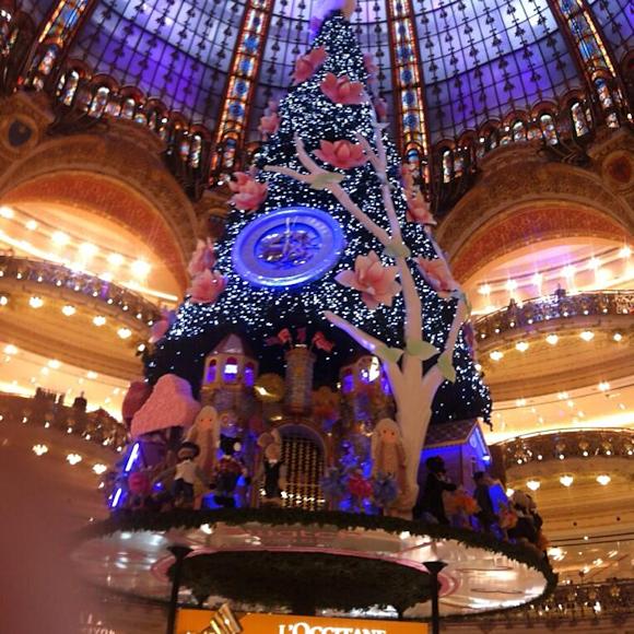 Sapin de Noël Galeries Lafayette Swatch