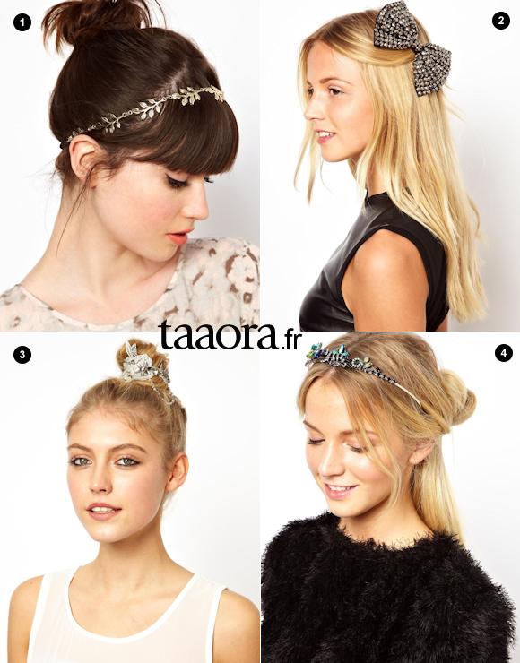 Accessoire cheveux fêtes