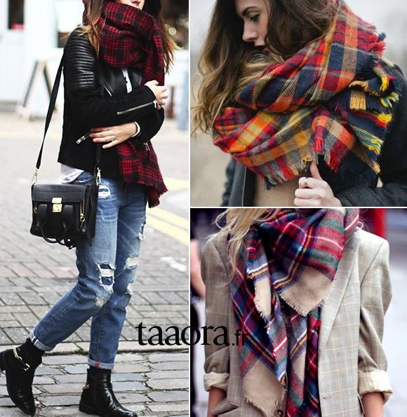 plus de photos nouveau design styles divers Tendance accessoire : l'écharpe à carreaux – Taaora – Blog ...