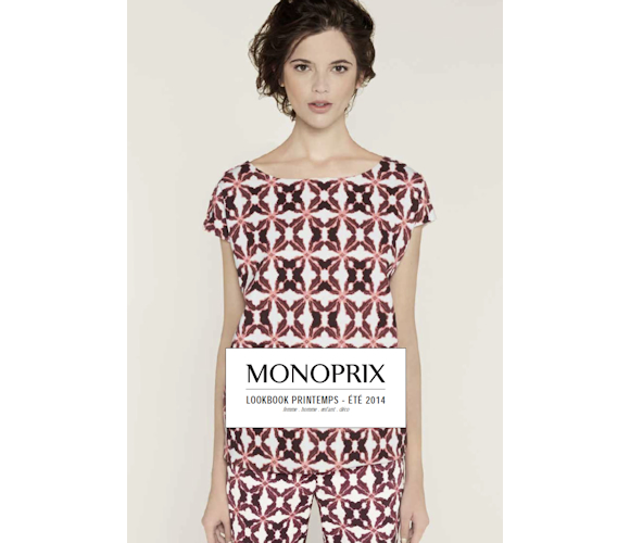 Monoprix collection mode femme printemps t 2014 taaora blog mode tenda - Collection femme monoprix ...