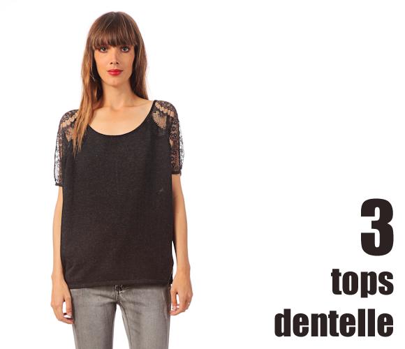 19ed83287d Tops noirs avec manches en dentelle – Taaora – Blog Mode, Tendances ...