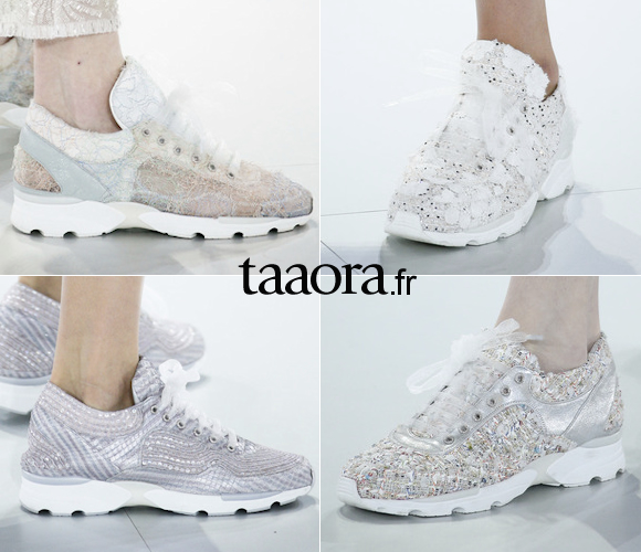 Les baskets du défilé Chanel Haute Couture – Taaora – Blog Mode ... 9df463ee676