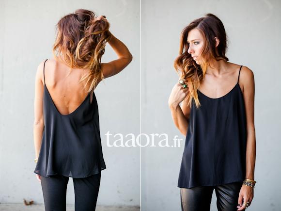 35f2621a75 3 bonnes raisons de craquer pour un caraco noir – Taaora – Blog Mode ...