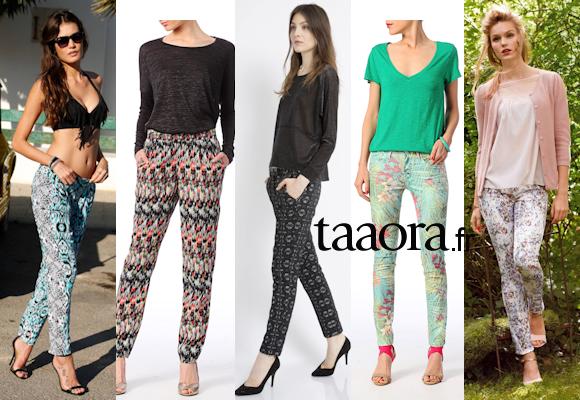 Pantalons Printemps-Été 2014