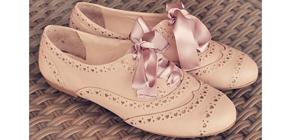 chaussures richelieu femme rose. Black Bedroom Furniture Sets. Home Design Ideas