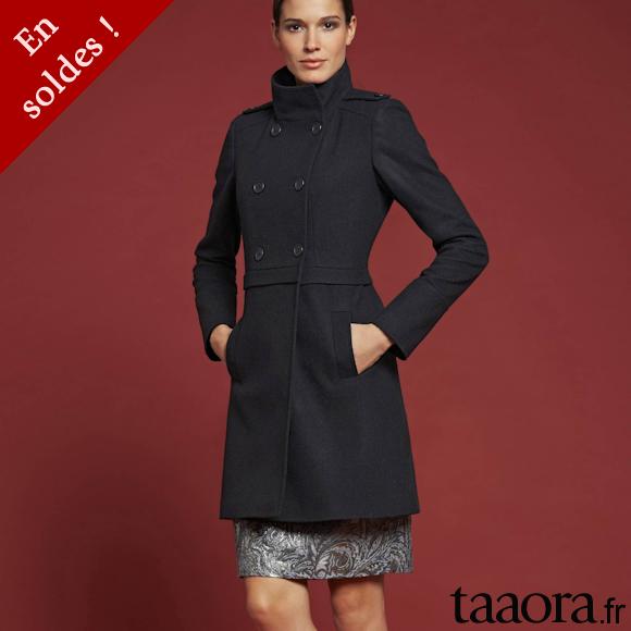 manteaux soldes hiver 2014 taaora blog mode tendances looks. Black Bedroom Furniture Sets. Home Design Ideas