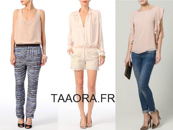top rose pastel comment le porter taaora blog mode tendances looks. Black Bedroom Furniture Sets. Home Design Ideas