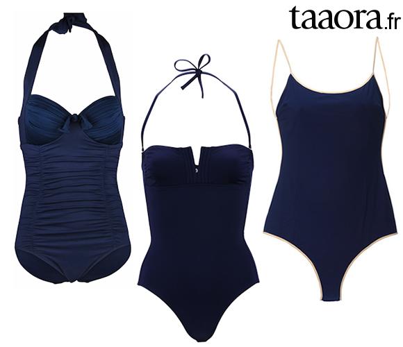 97142a4603 Quel maillot 1 pièce bleu marine pour cet été 2014 ? – Taaora – Blog ...