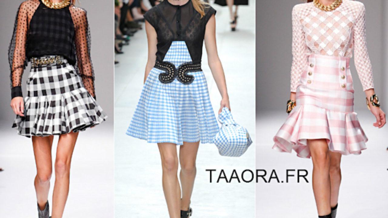 d684b27dc6 Imprimé vichy tendance été 2014 : le bon shopping pour un look baby doll –  Taaora – Blog Mode, Tendances, Looks