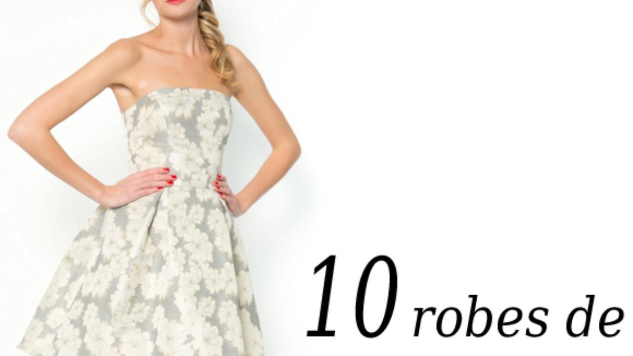 6b82b734a7a2b Robes de soirée été 2014 : 10 robes bustier chic et élégantes à ...