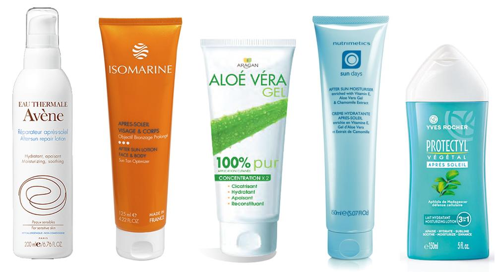 Solaire les 10 tubes de l t pour prot ger sa peau du - Calmer les coups de soleil ...
