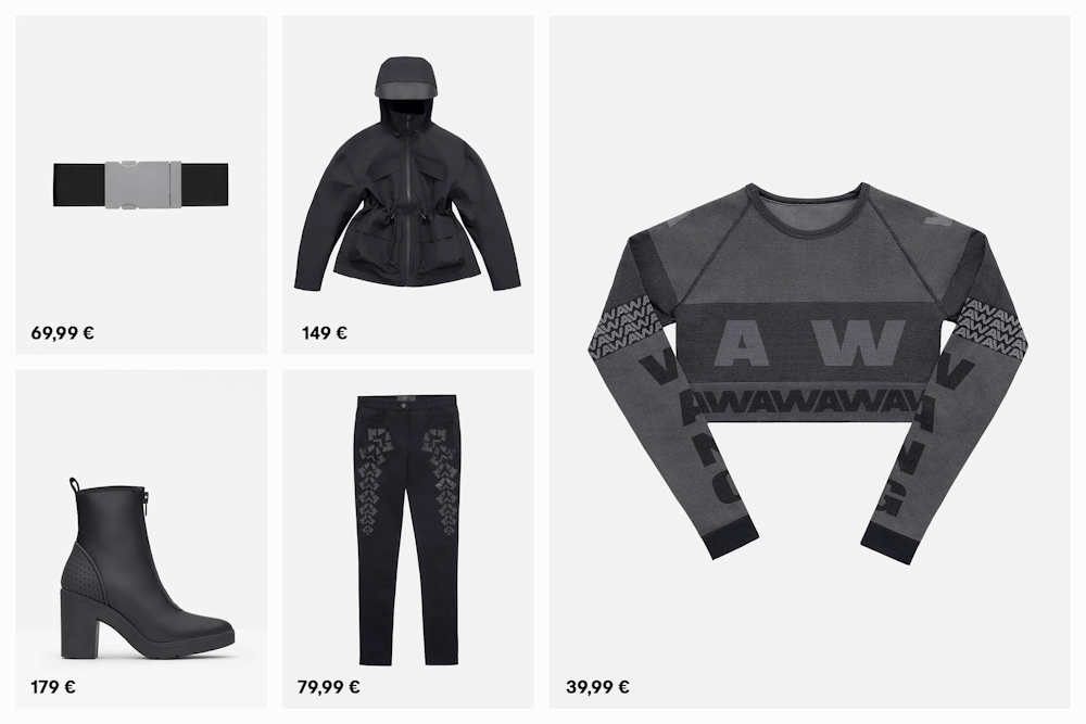 alexander wang et h m toutes les photos et tous les prix de la collection femme taaora. Black Bedroom Furniture Sets. Home Design Ideas