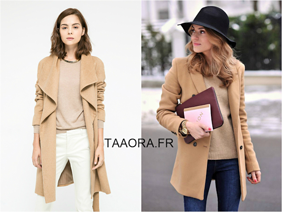 Looks avec quoi porter un manteau camel taaora blog mode tendances looks - Avec quoi tuer des asticots ...