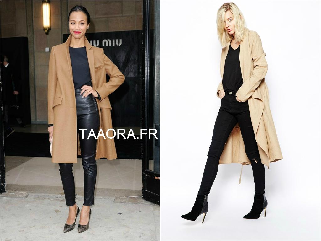 bb8b2ed30e917 Looks   avec quoi porter un manteau camel   – Taaora – Blog Mode ...