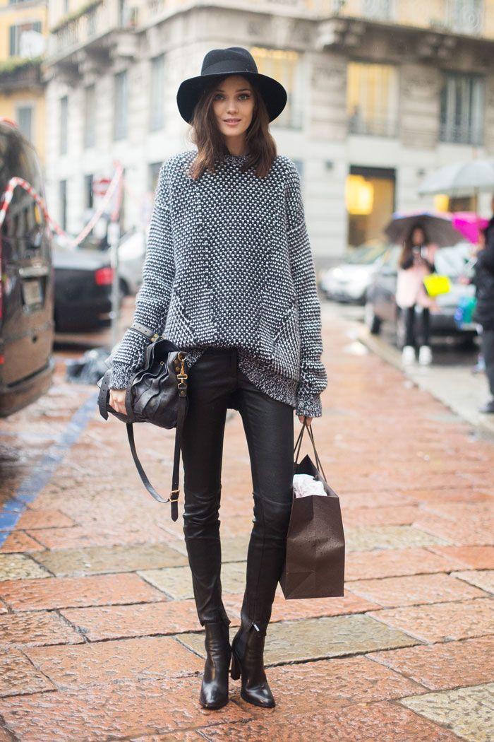 Streetstyle 8 Id Es De Looks Pour L Automne 2014 Taaora Blog Mode Tendances Looks