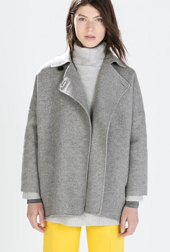 6228e43392 Les plus beaux manteaux d'hiver tendance 2016 - Marie Claire