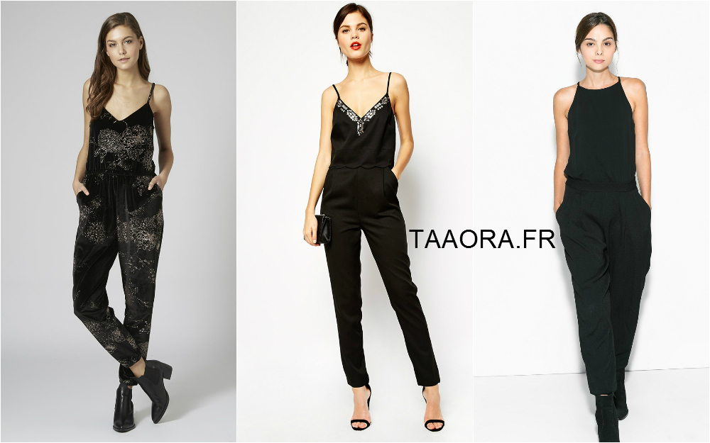 9 combinaisons noires porter pour les f tes taaora blog mode tendances looks. Black Bedroom Furniture Sets. Home Design Ideas