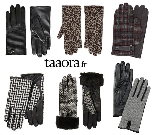 6 paires de gants mode pour l hiver 2015 taaora blog. Black Bedroom Furniture Sets. Home Design Ideas
