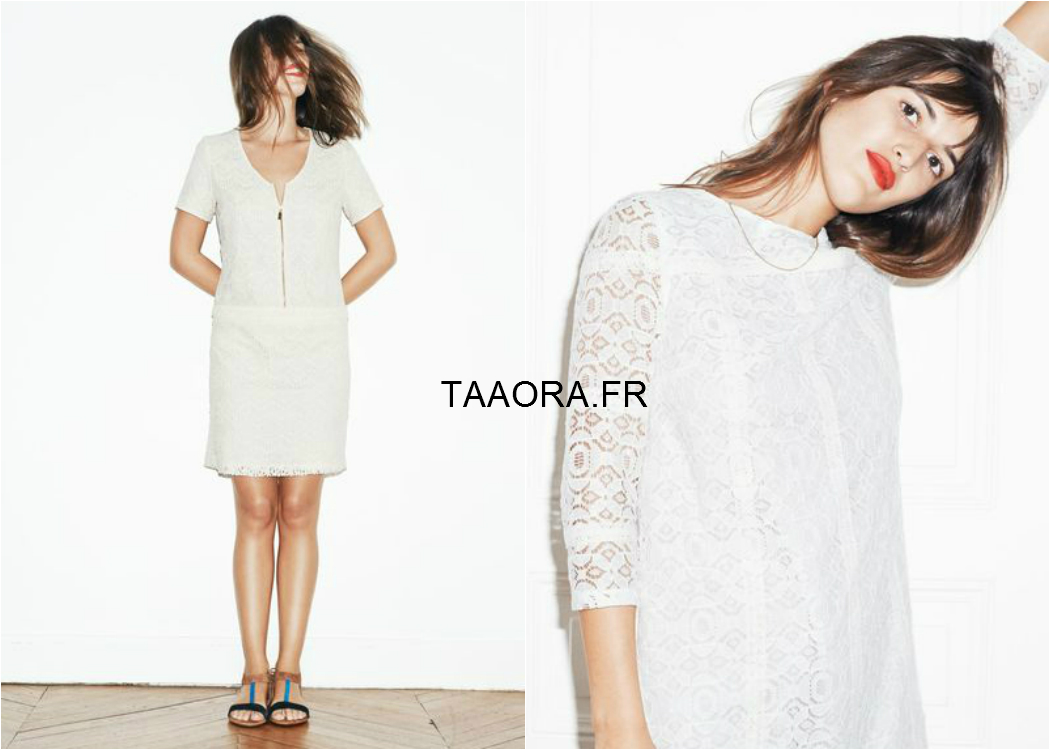 Les robes en dentelle s zane pour la redoute dition limit e taaora blo - Catalogue la redoute printemps ete 2015 ...