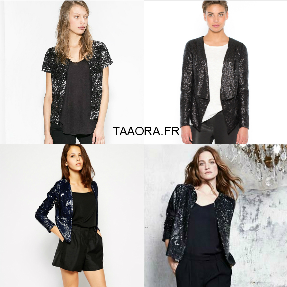 4 vestes sequins pour briller pendant les f tes taaora blog mode tendances looks. Black Bedroom Furniture Sets. Home Design Ideas