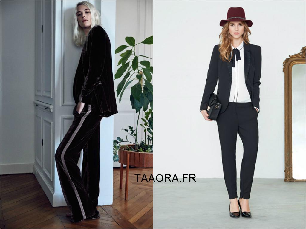 comment s habiller pour les f tes 2014 10 id es de tenues de soir e avec un pantalon taaora. Black Bedroom Furniture Sets. Home Design Ideas