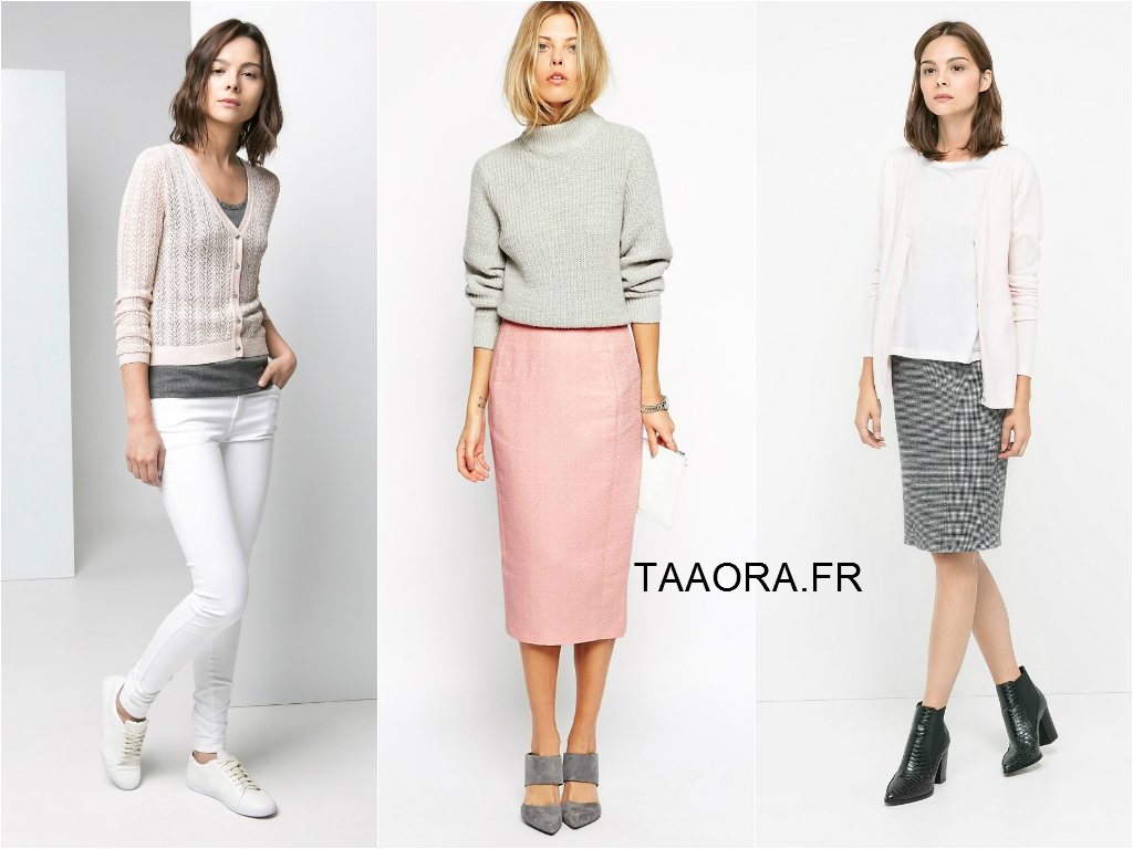 8 id es de looks avec du rose clair et du gris deux couleurs porter ensemble taaora. Black Bedroom Furniture Sets. Home Design Ideas