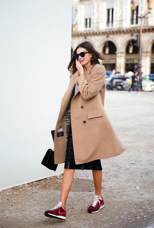 Blogueuses Manteau Mode Équation Bonne Des CamelBasketsLa OuXPiTkZ