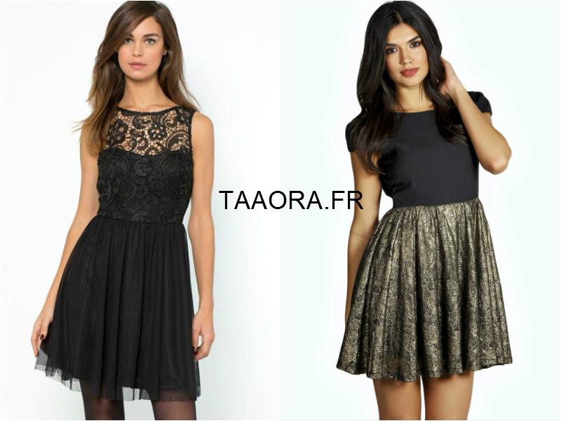 Fêtes 2014  8 robes de soirée noires à moins de 50 euros