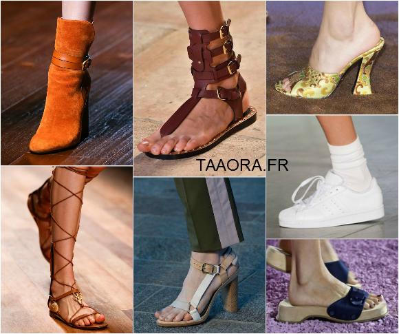 Tendances chaussures printemps été 2015 – Taaora – Blog Mode