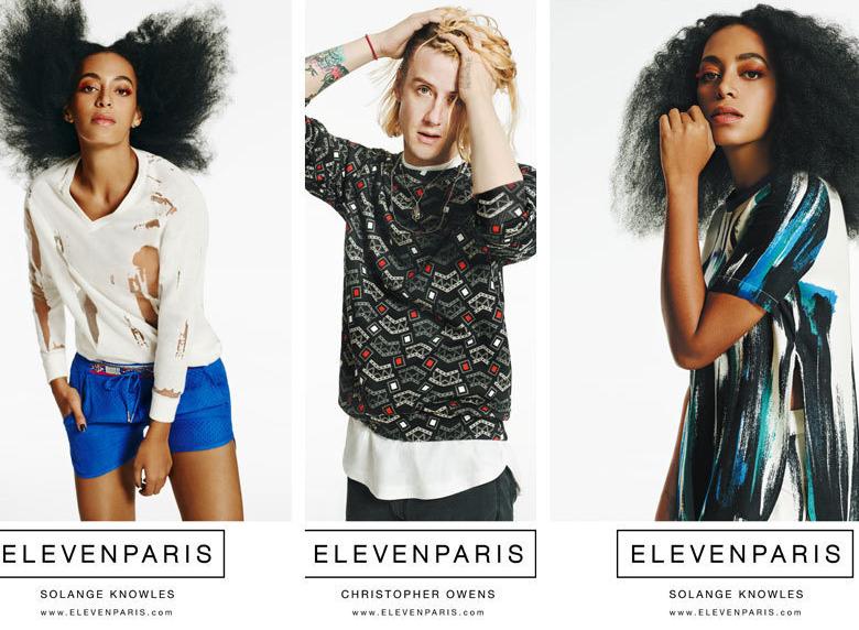 e378c061c9d9 Solange Knowles égérie Eleven Paris. Campagne Eleven Paris printemps-été  2015 ...