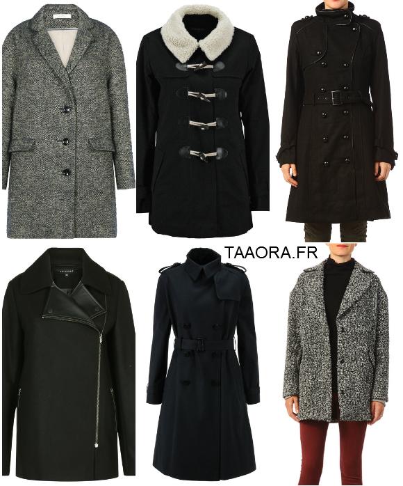 12 manteaux basiques shopper en soldes taaora blog mode tendances looks. Black Bedroom Furniture Sets. Home Design Ideas
