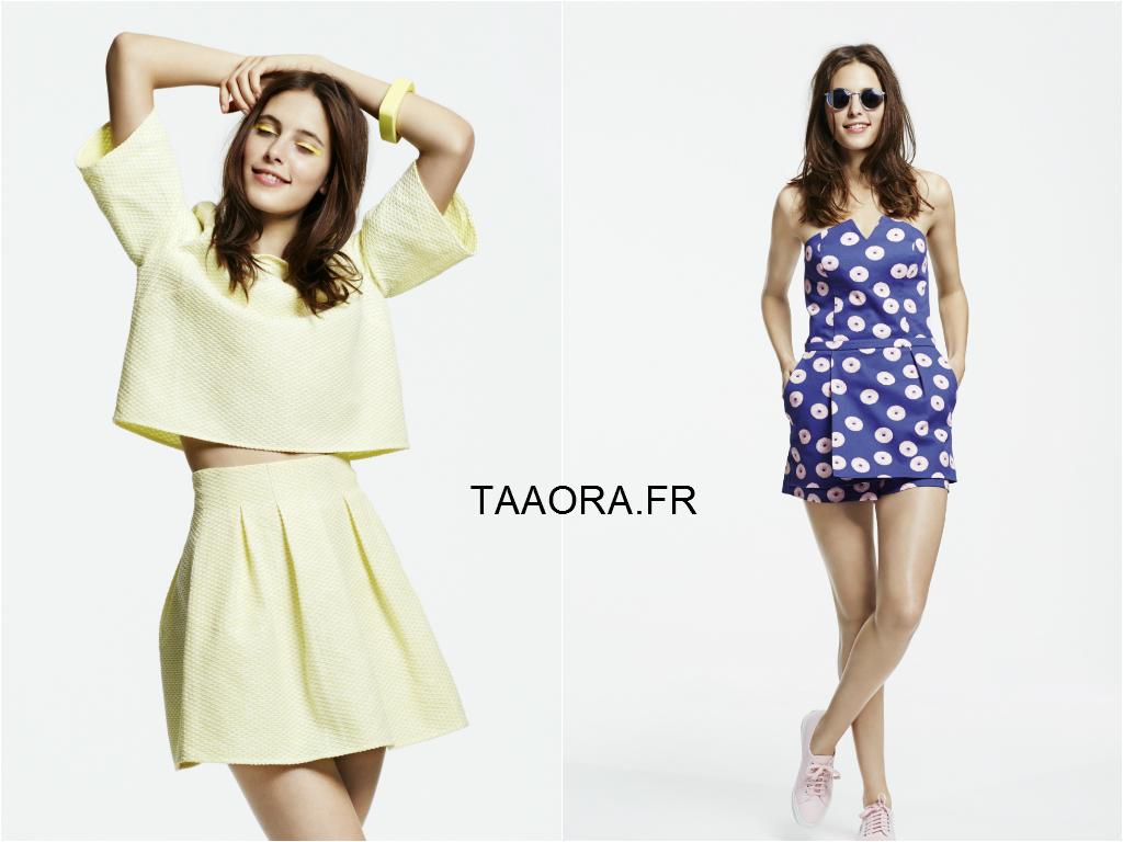 naf naf lookbook printemps t 2015 les tendances de la nouvelle collection taaora blog. Black Bedroom Furniture Sets. Home Design Ideas
