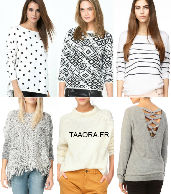 6 pulls tendance printemps t 2015 taaora blog mode tendances looks. Black Bedroom Furniture Sets. Home Design Ideas