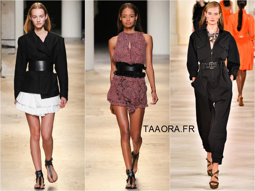 la ceinture large l accessoire phare du printemps t 2015 taaora blog mode tendances looks. Black Bedroom Furniture Sets. Home Design Ideas